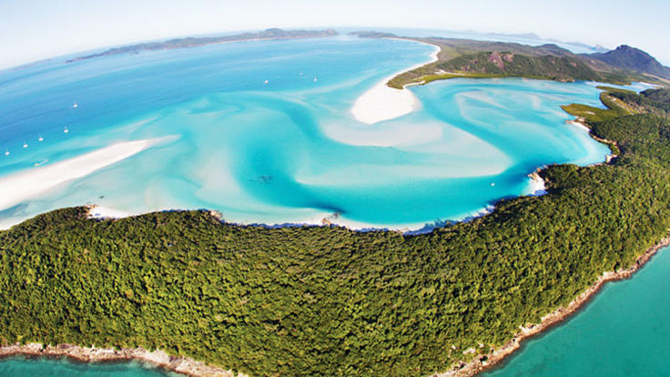 Helicopter Flights Whitsundays - Whitehaven Beach