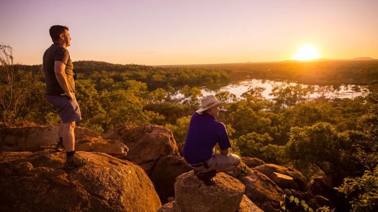 Outback Queensland experience on helicopter scenic flights