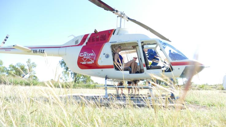 Outback Helicopter Fishing Expedition flights