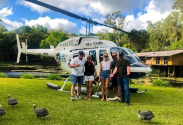 North Queensland Heli flight Outback Pub Crawl