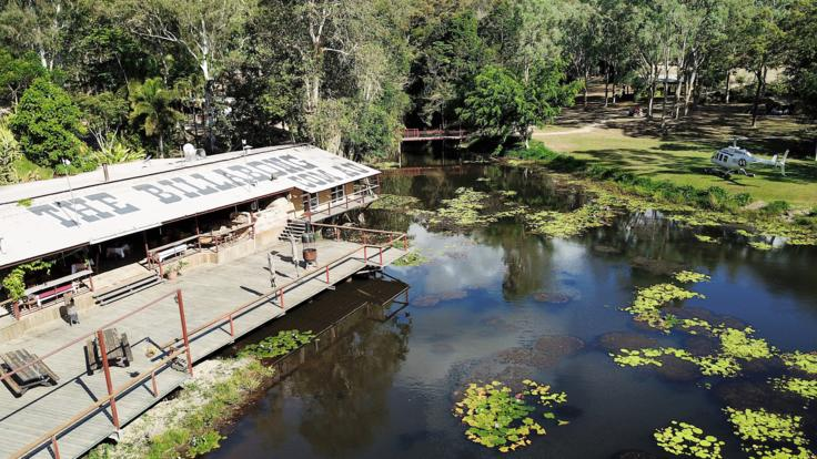 Cairns Helicopter Flights - The Billabong Kuranda - Favourite Heli Pub crawl watering hole