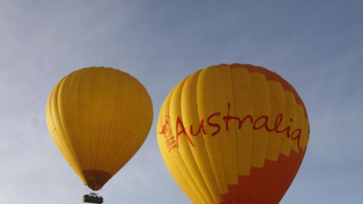 Hot air balloon tours Cairns 30 or 60 minute flights