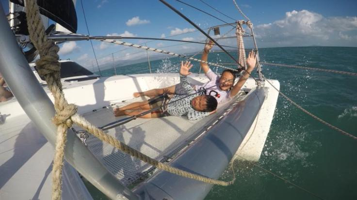 Private charter yacht is a great option for families on the Great Barrier Reef