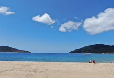 Langford Beach in the Whitsundays