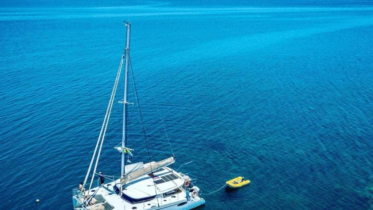 Port Douglas Charter Yacht - Aerial View
