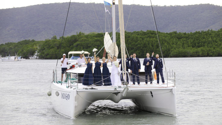 Intimate Wedding Private Charter Boat Port Douglas