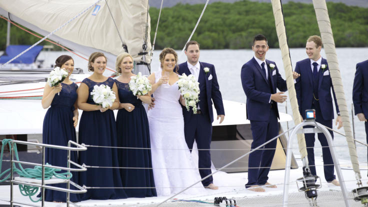Port Douglas Private Charter Boat For Weddings