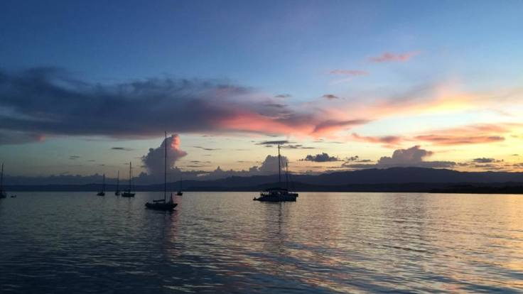Romantic sunset sail from Low Isles back to Port Douglas