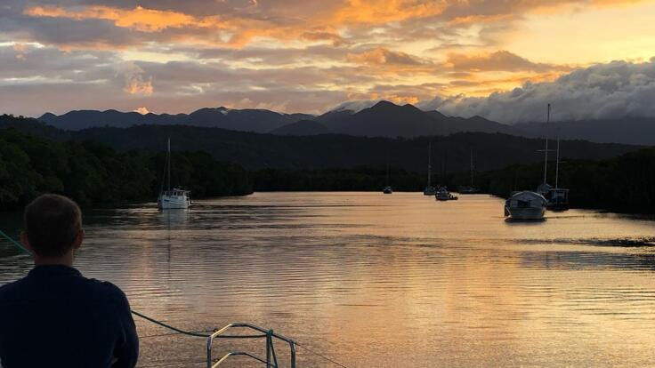 Sunset Sail back to Port Douglas - Private Charter Yacht