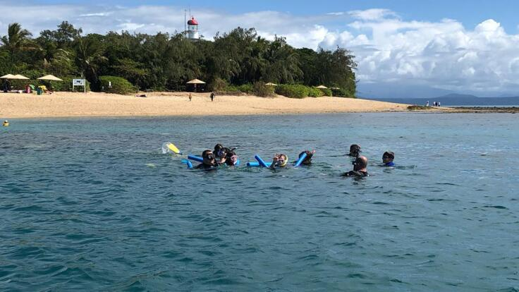 Private Charter Snorkel Tour of Low Isles