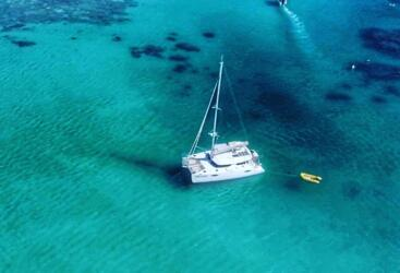 Port Douglas Charter Yacht at anchor Low Isles - Great Barrier Reef