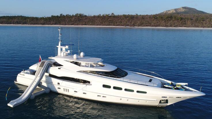 Superyacht Charters Great Barrier Reef - At Anchor