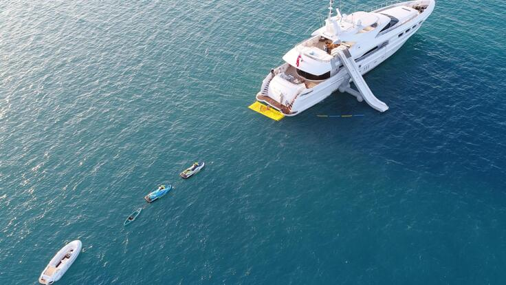 Superyacht Charters Great Barrier Reef - All the Toys