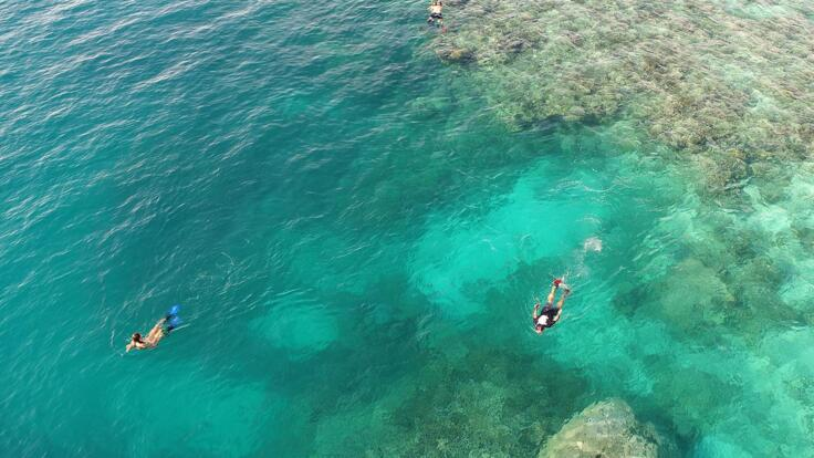 Yacht Charters Great Barrier Reef - Snorkellling