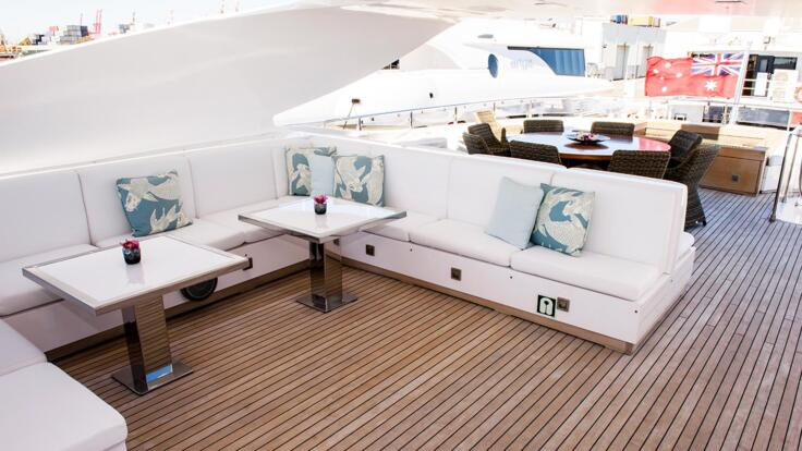 Superyacht Charter Great Barrier Reef - Outdoor Entertainment