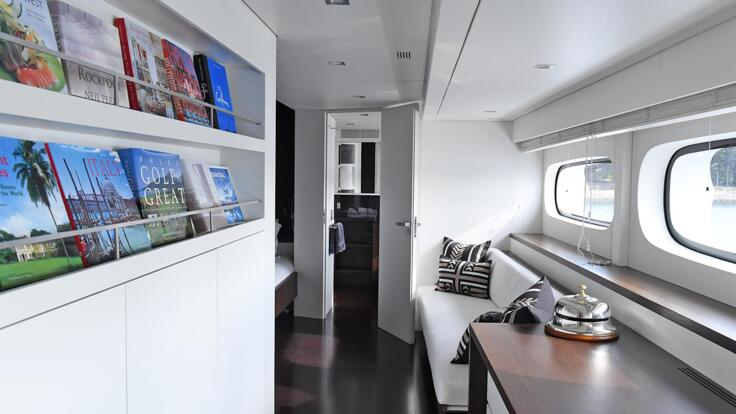 Superyachts Great Barrier Reef - Entry to Master Cabin