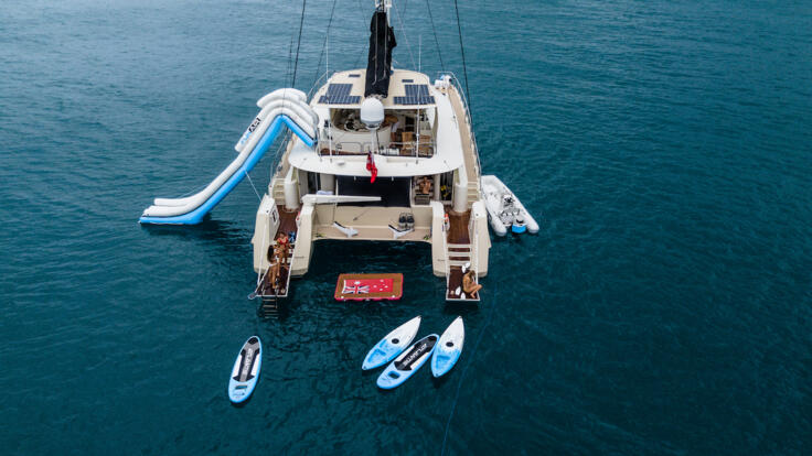Luxury Yacht Charters Whitsunday Islands - All the Yacht Toys are Out