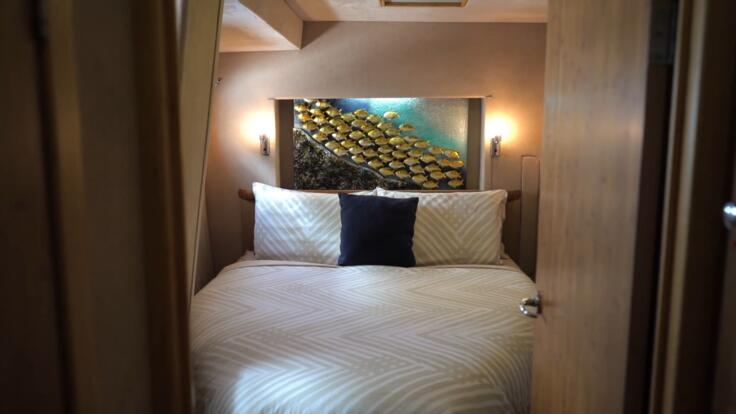 Luxury Yacht Charters Great Barrier Reef - Luxury Accommodation