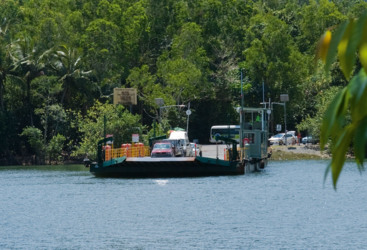 Daintree Ferry crossing