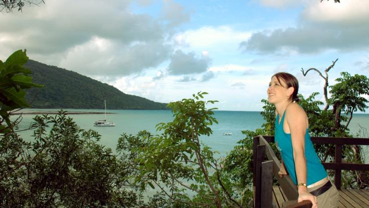 Stunning views at Alexandra Lookout - Cape Tribulation
