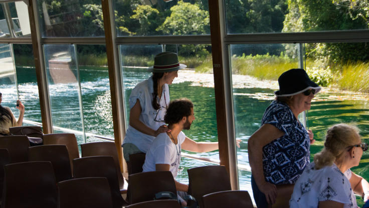 Lake Barrine Volcanic Crater Lake Cruise, Atherton Tablelands