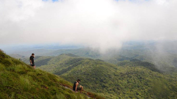 Lookout at Lamb Mountain Ranges on Cairns hiking tour
