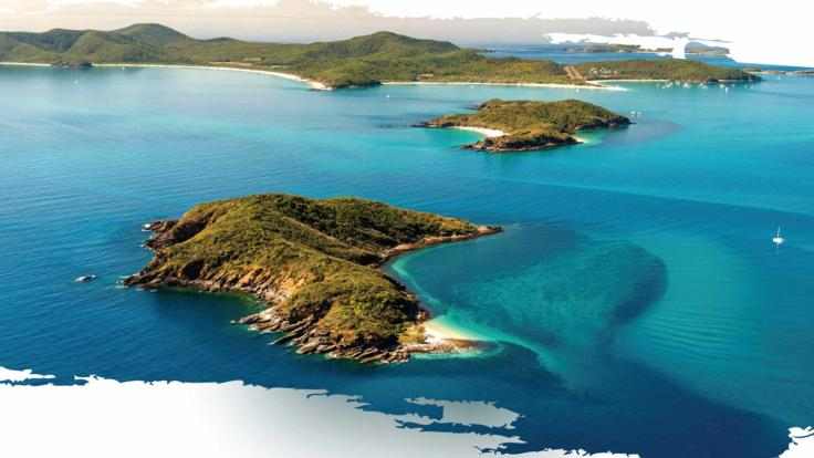 Keppel Islands half day discovery tour