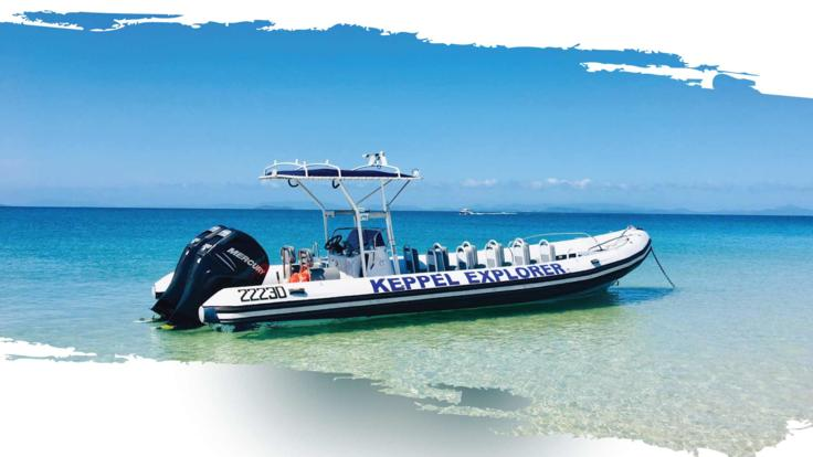 Half day tour exploring Keppel Island from Yeppoon