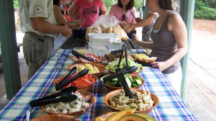 We serve up the best lunches on our Fraser Island tours