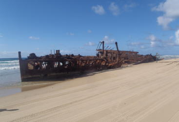 See the famous ship wrecks on Fraser Island on our 4WD tours