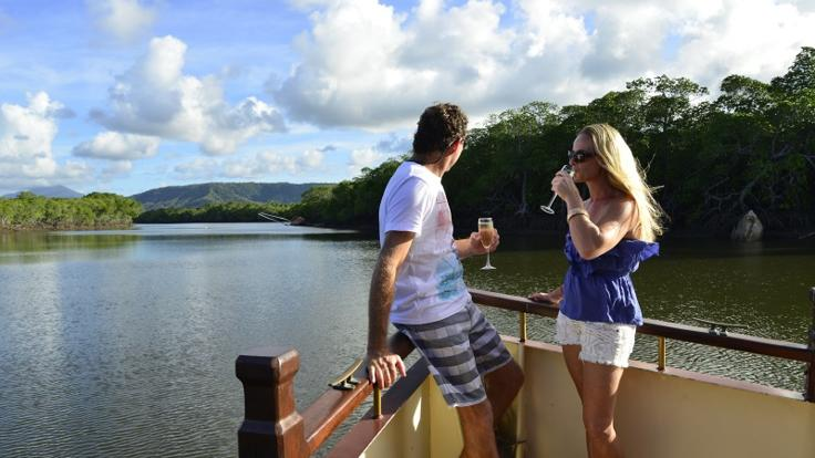 Port Douglas Private River Cruise Boat Available for charter