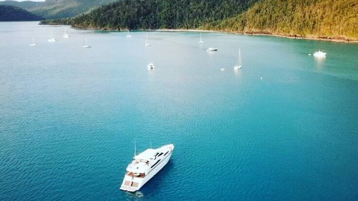 Superyacht Charter Australia - Whitsundays - Great Barrier Reef