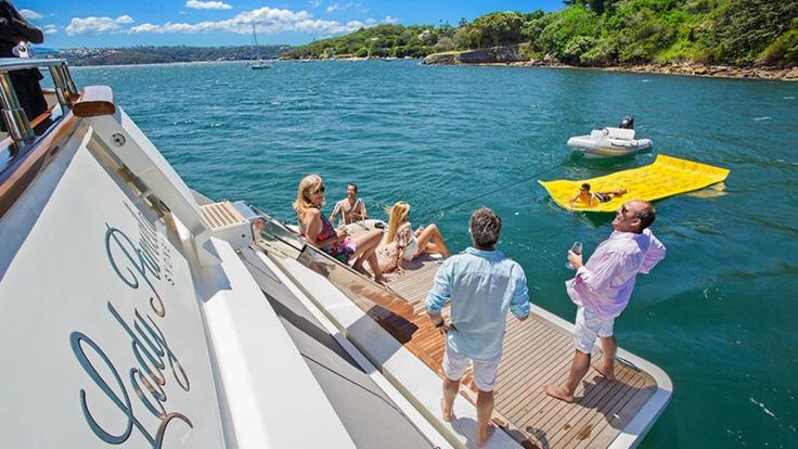 Snorkel the Whitsundays from your luxury Superyacht