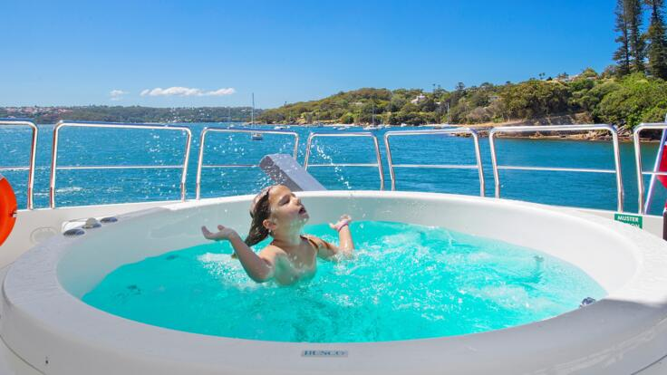 Superyacht Charters Whitsunday Islands - Spa Time