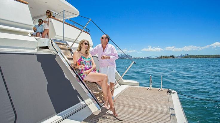 Superyachts Great Barrier Reef - Whitsunday Luxury Superyacht
