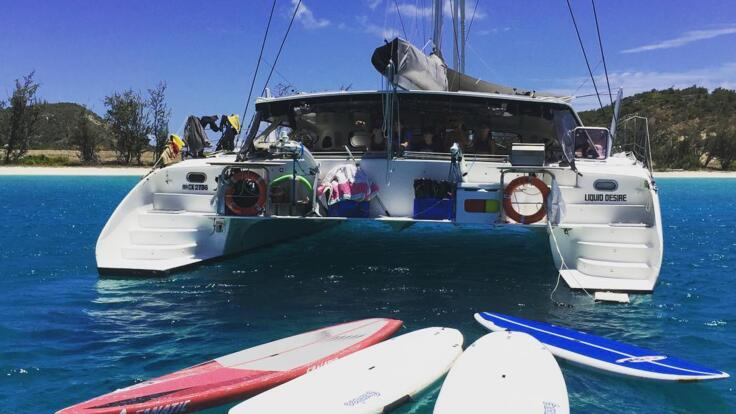 Private Yacht Charter Port Douglas - SUP Boards