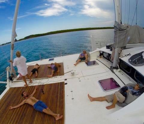Port Douglas Yacht Charter - Large Forward Deck