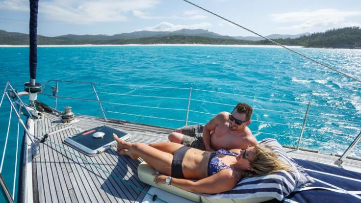 Private Charter Yacht Airlie Beach | Relax on deck your private charter yacht
