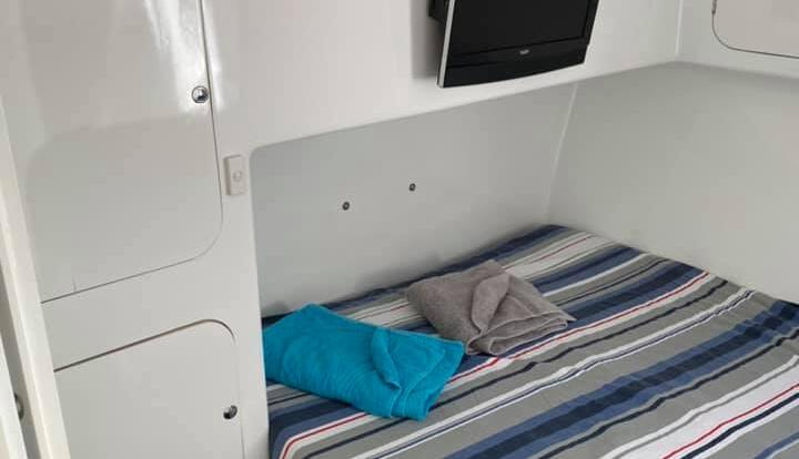 Cairns Charter Boat - Double Cabin - Great Barrier Reef Australia