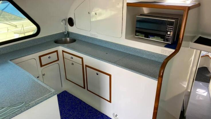 Cairns Charter Boat - Galley