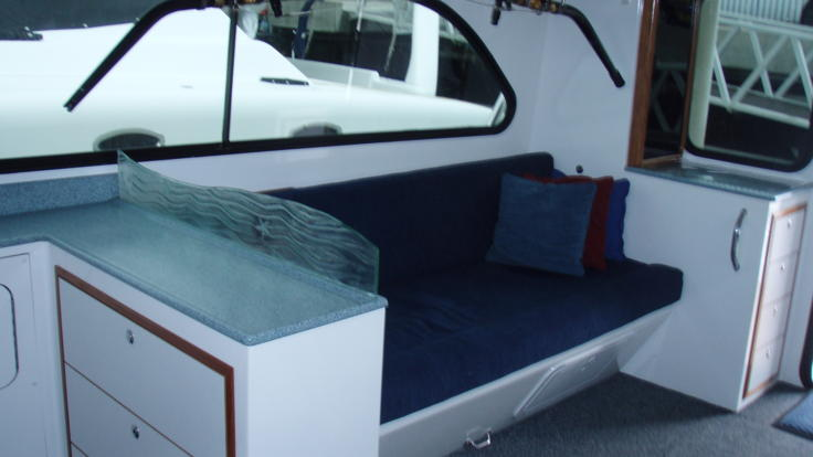 Cairns Charter Boat |Saloon