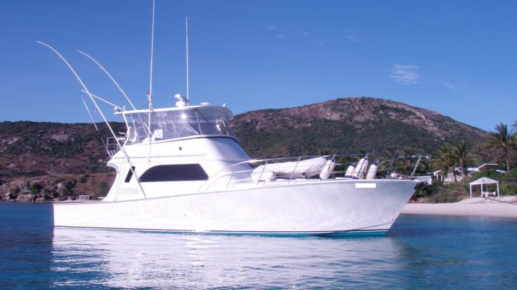 Cairns Luxury Private Charter Boat on the Great Barrier Reef