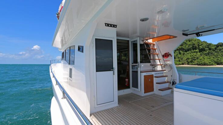 Luxury Yacht Charters in Port Douglas