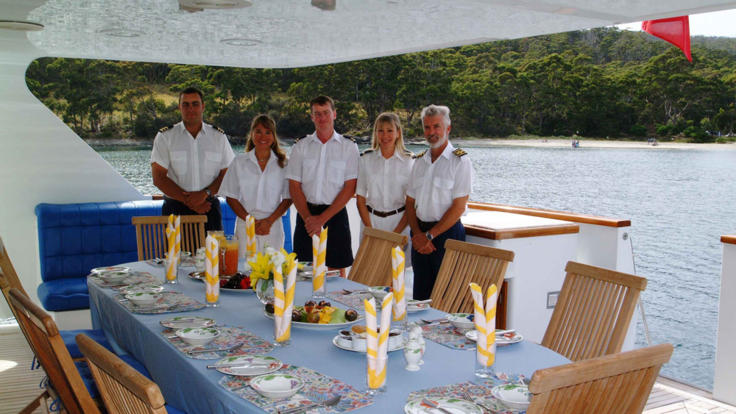 Private Charter Yacht Crew | Personalised Service | Great Barrier Reef | Australia