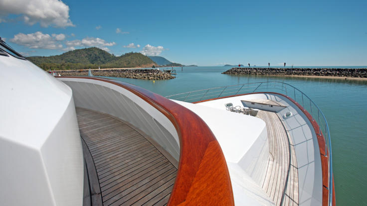Superyacht Charters  - Cairns and Whitsundays - Great Barrier Reef