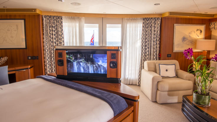 Superyachts Great Barrier Reef - Master Cabin