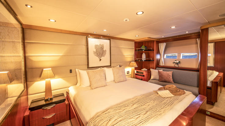Superyachts Great Barrier Reef - Port Aft Cabin