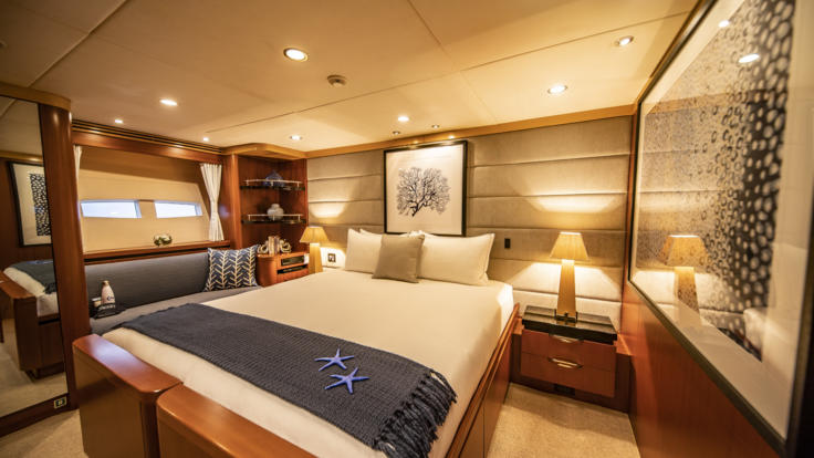 Superyachts Great Barrier Reef - Starboard Aft Cabin