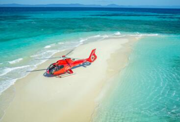 Helicopter Flights Port Douglas - Exclusive Sand Cay Helicopter Landing