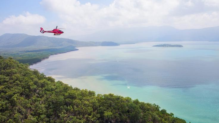 Port Douglas Helicopter Flights: Helicopter Flight Over The Rainforest Australia